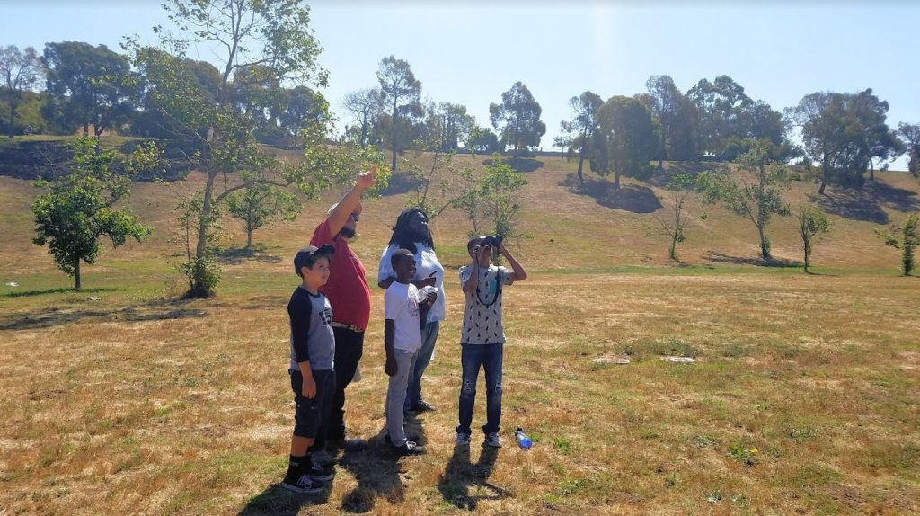 West Los Angeles College Students Teach Campers About Local Ecology